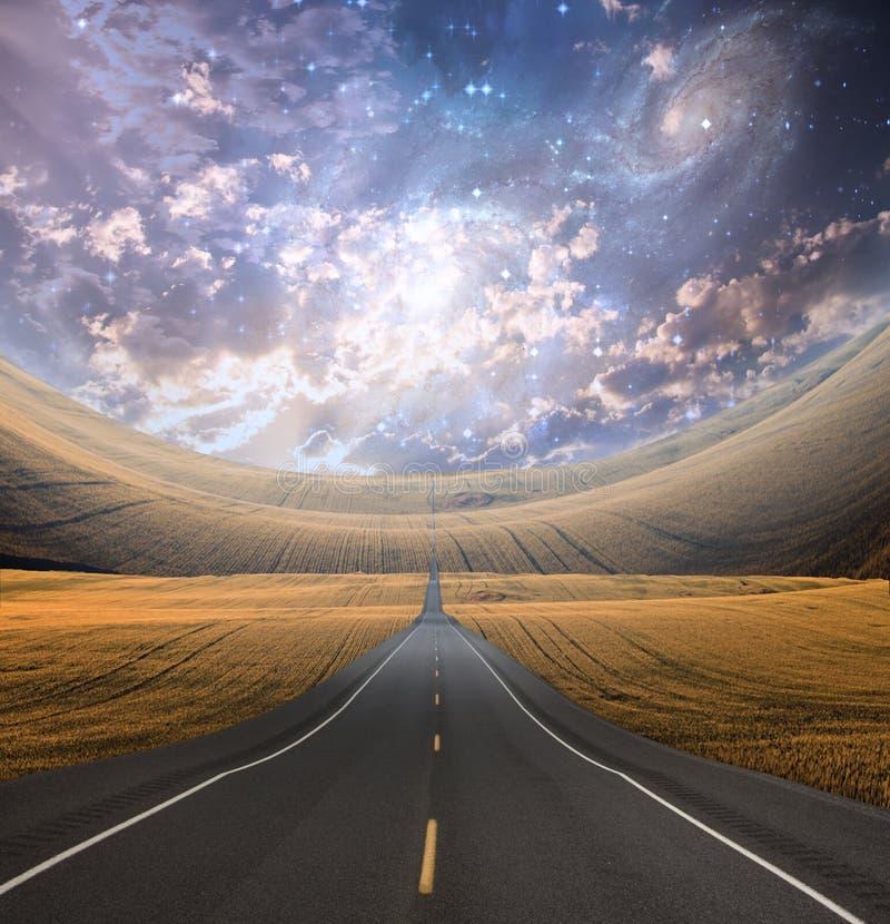 freeway ilustração do vetor