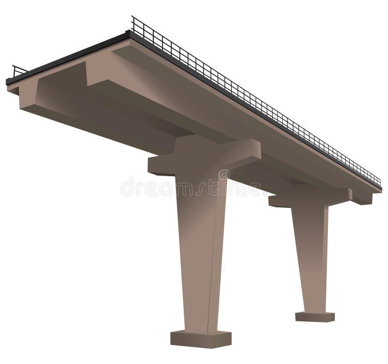 Download Freeway stock vector. Image of vehicle, freeway, bridge - 33261536