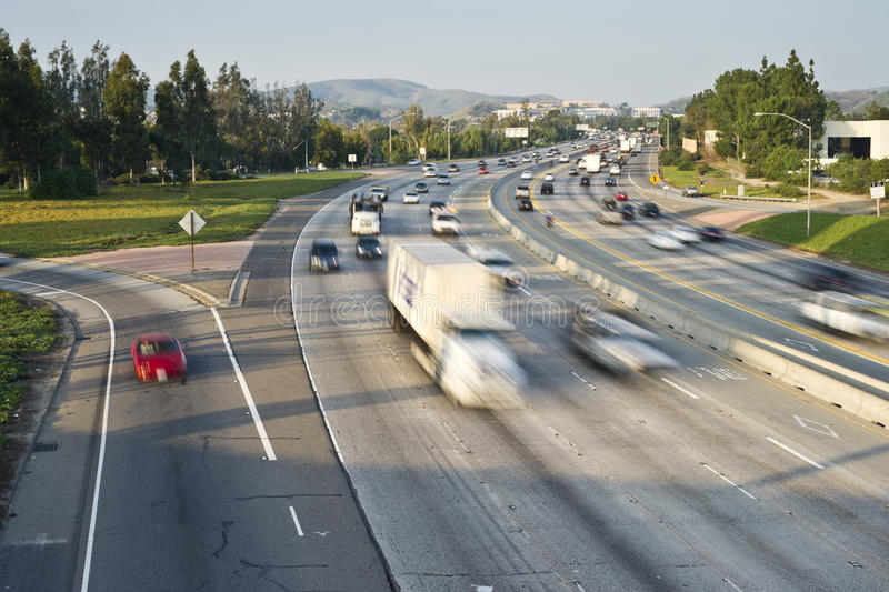 Download Freeway Traffic stock photo. Image of global, head, freight - 17918446