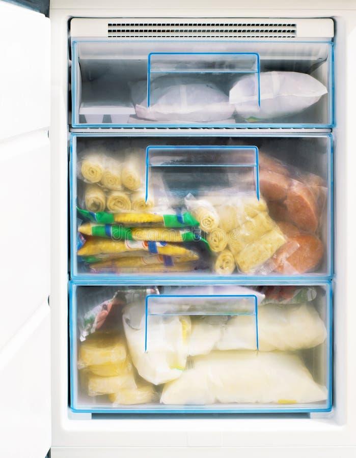Freezer stock image