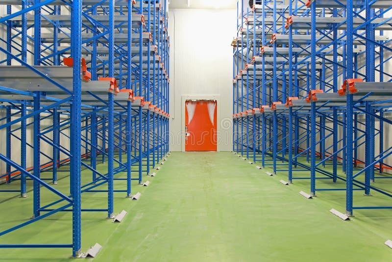 Freezer warehouse royalty free stock photo