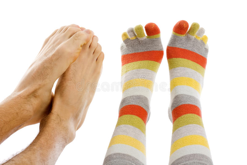 Download Freezing foot stock image. Image of caucasian, sock, heel - 12654231