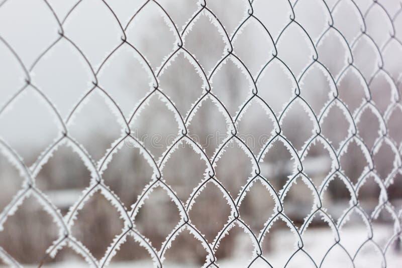 Freezing netting stock images