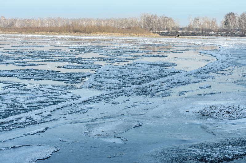 Freezing Water. Stock Photography