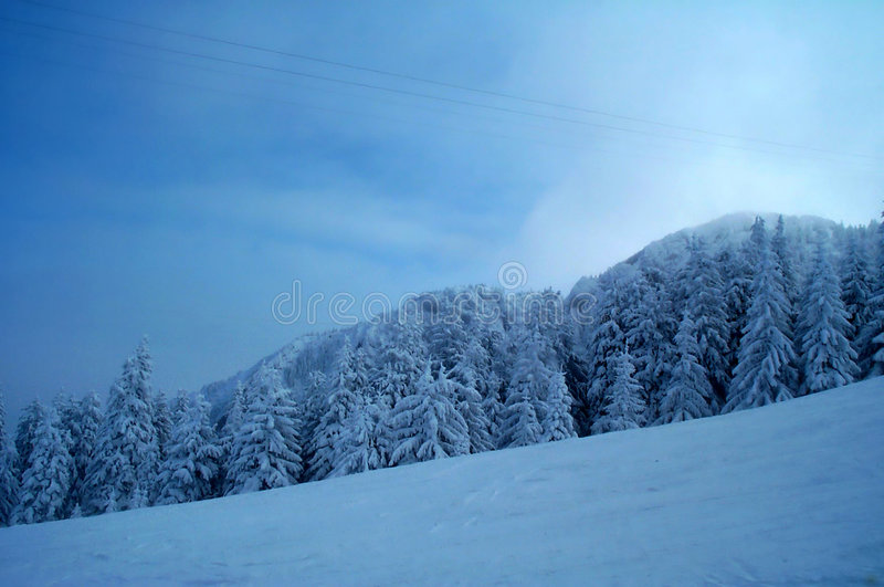 Download Freezing winter stock image. Image of resort, hill, fresh, freezy - 5