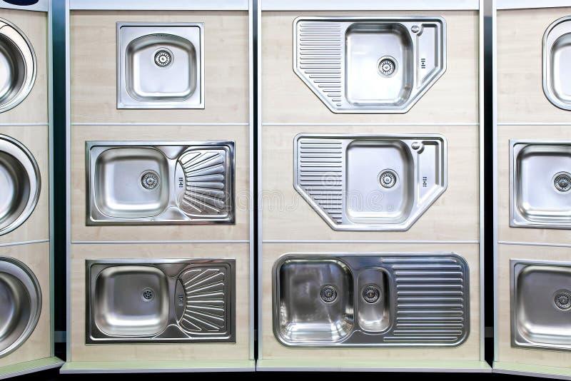 Fregaderos de cocina foto de archivo imagen de metal - Fregaderos de cocina precios ...