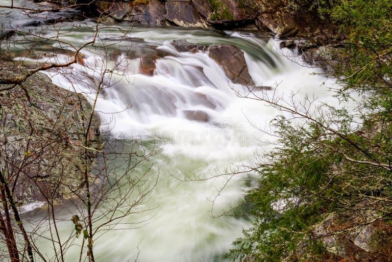Fregaderos del pequeño río, Tennessee foto de archivo libre de regalías