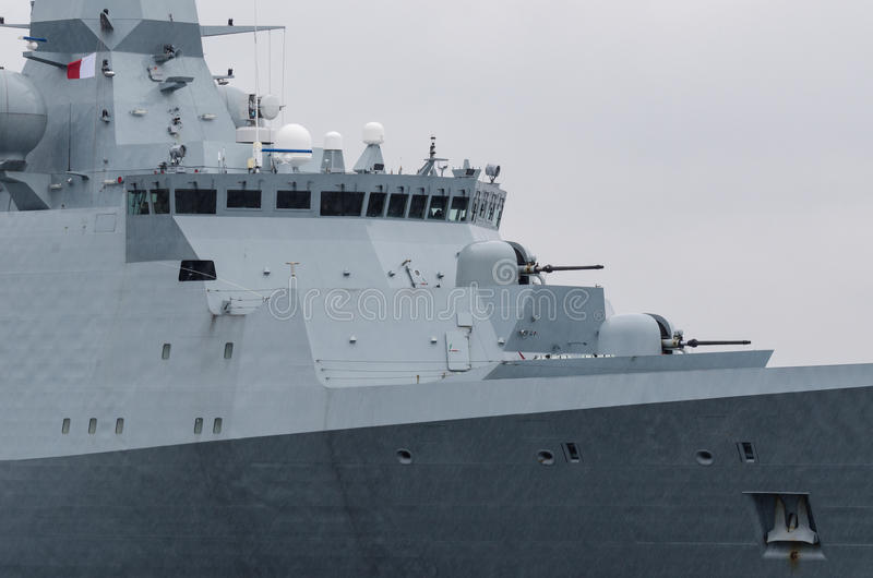fregatte stockbild