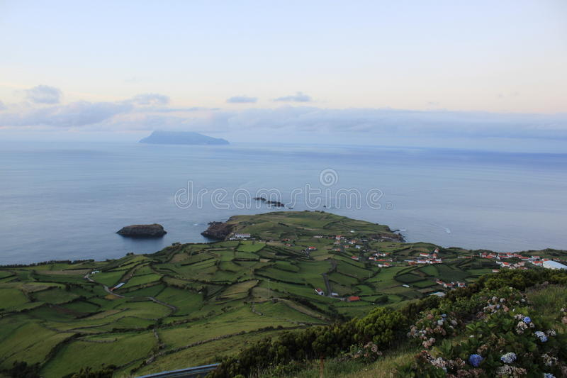 Freguesia de Ponta Delgada 免版税库存图片