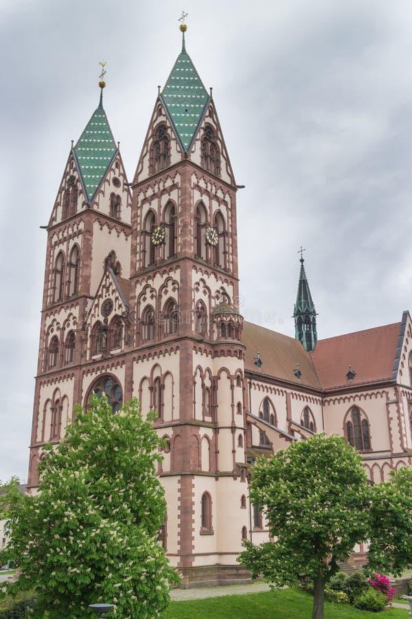 Freiburg Herz-Jesu kościół fotografia stock