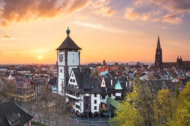 Freiburg Im Breisgau, Γερμανία στοκ εικόνες με δικαίωμα ελεύθερης χρήσης