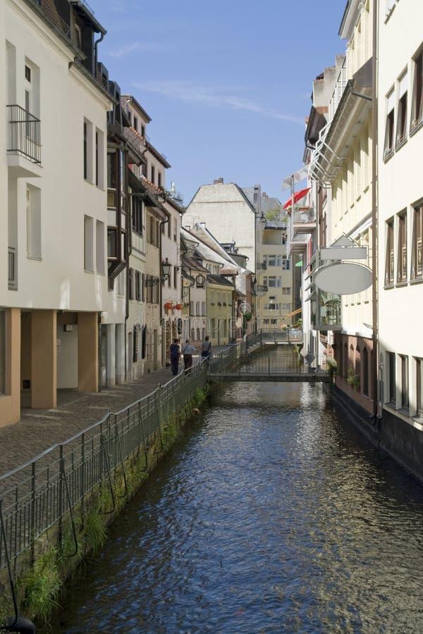 Freiburg-im-Breisgau en el tiempo de verano foto de archivo libre de regalías