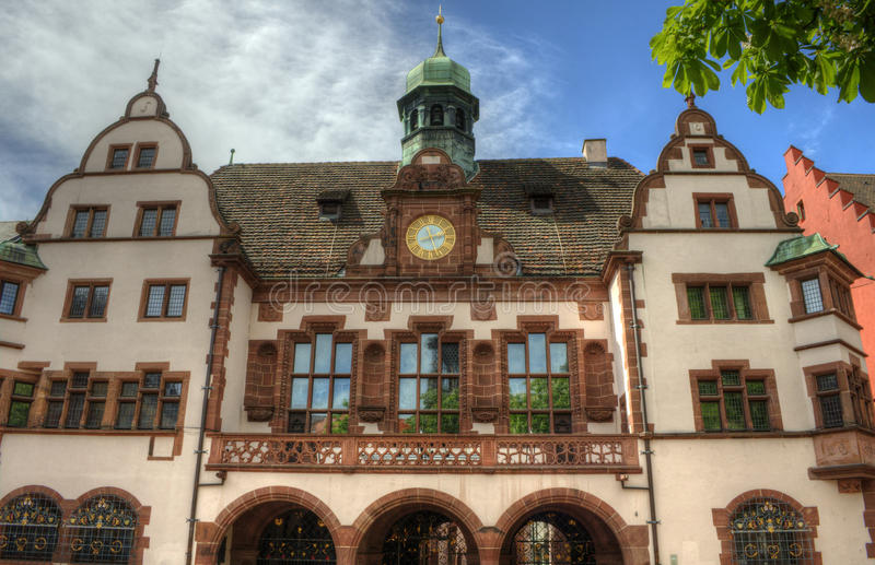 Download Freiburg Im Breisgau, Germany - Old Town Hall Stock Photo - Image: 26579606