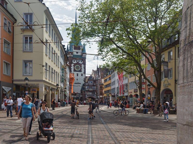 FREIBURG IM BREISLAU,GERMANY-JUNE 25,2015 royalty free stock photography