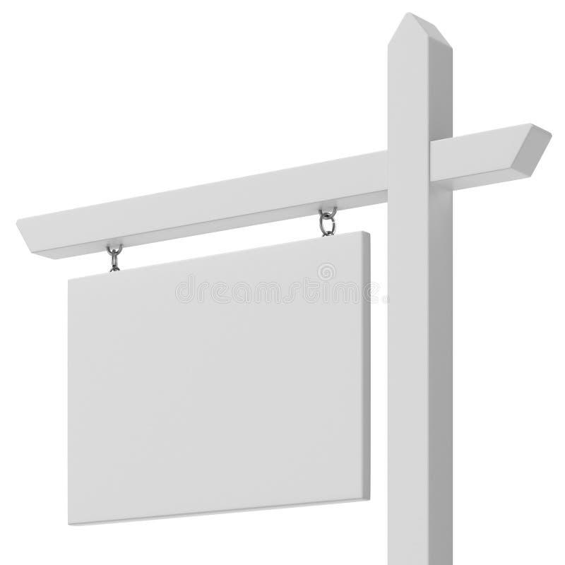 Freier Raum für Verkaufszeichenabschluß oben lizenzfreie abbildung