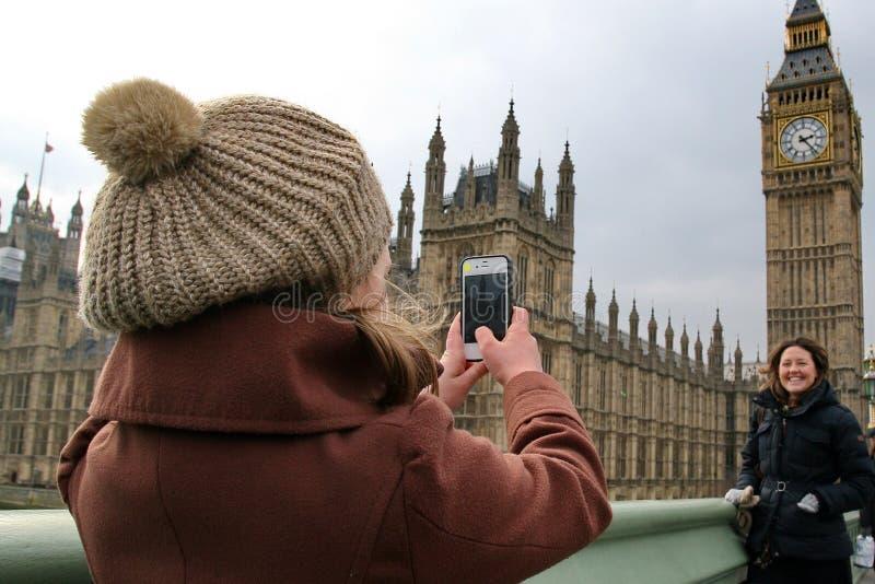 Freier Tag in London stockbild