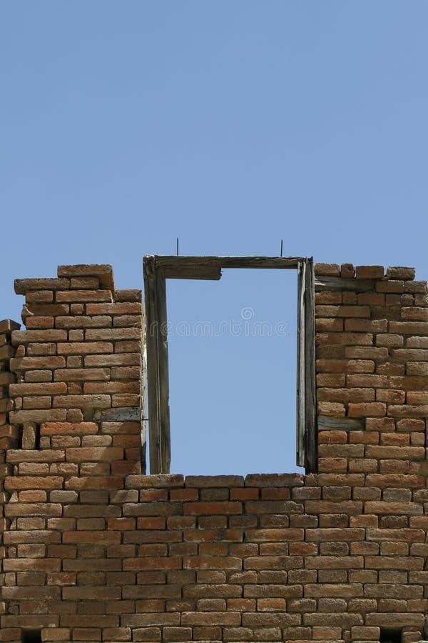 Freies Fenster stockfoto