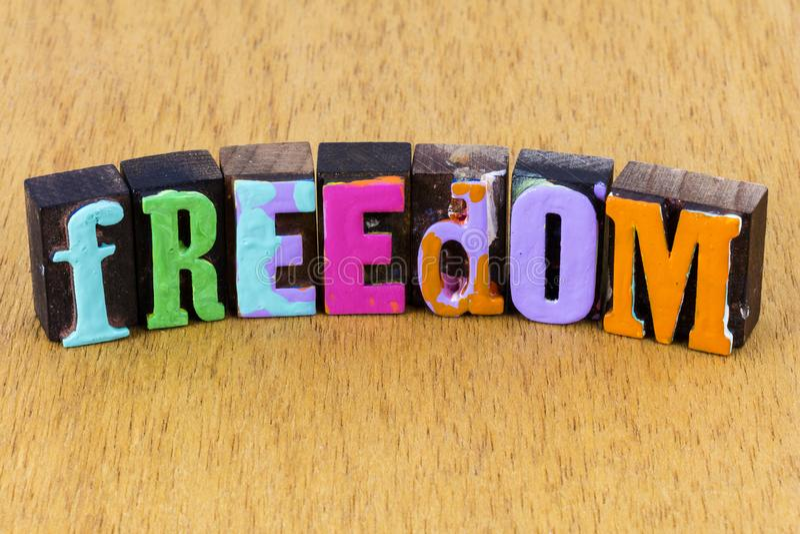 Freies Leben glücklich sorglose Harmonie Erfolg Glück stockfotos