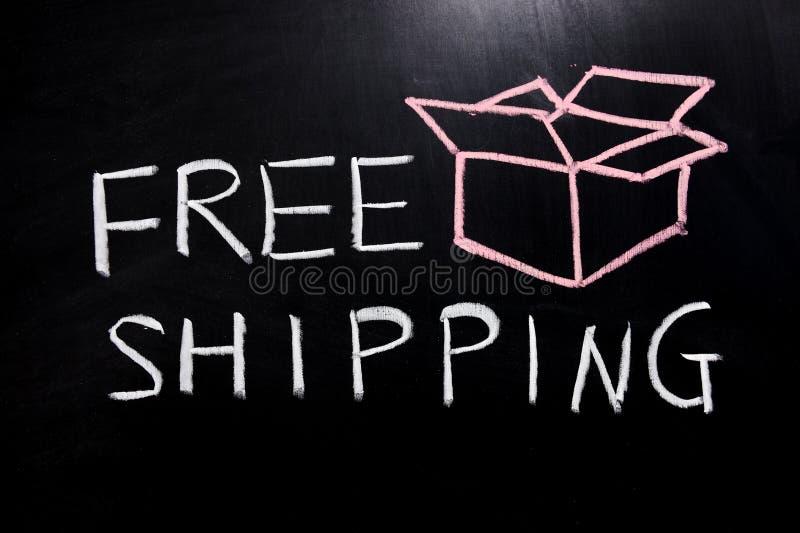 Freies Verschiffen stockbild