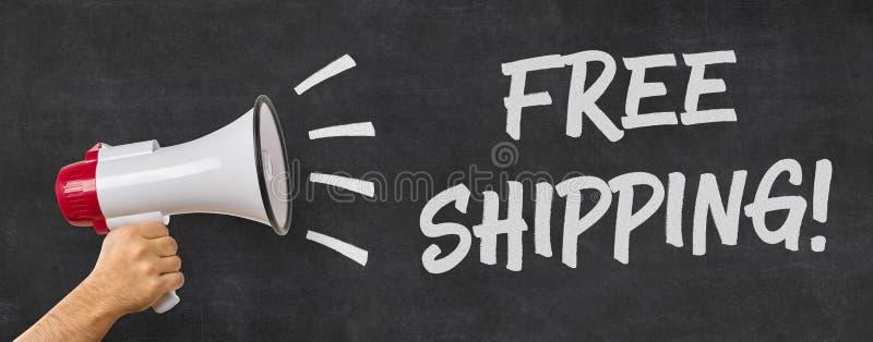 Freies Verschiffen lizenzfreie stockfotografie