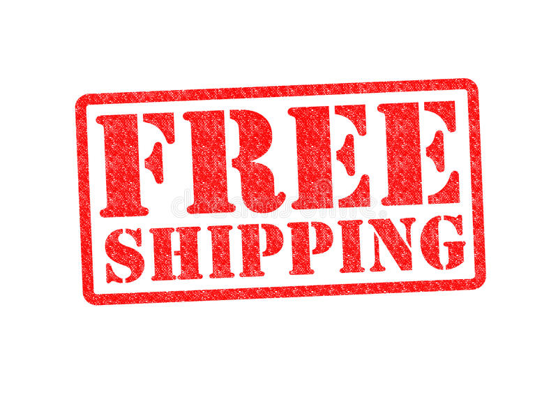 Freies Verschiffen lizenzfreies stockbild