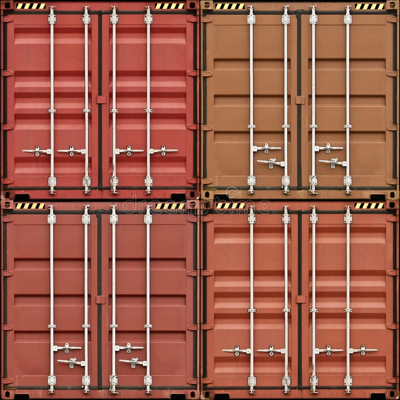 Freight Containers royalty free stock photo