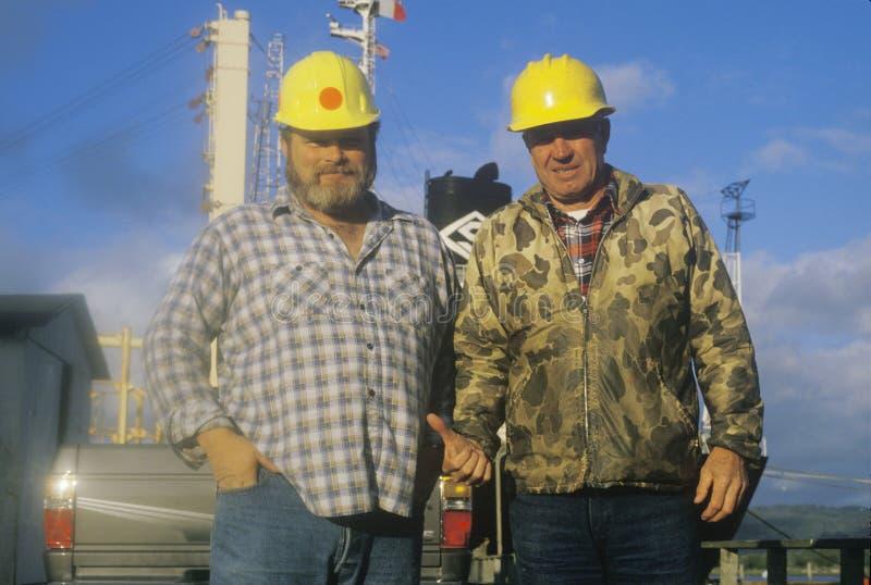Freight Crew Members Editorial Stock Image