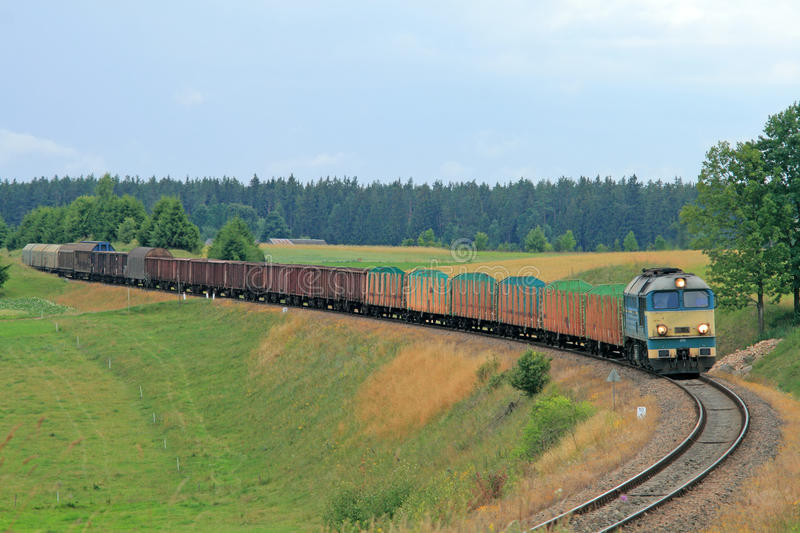 Download Freight Diesel Train Stock Photos - Image: 10695213