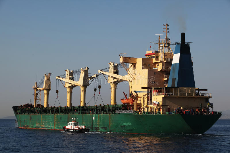 Download Freight ship stock photo. Image of crane, delivery, ship - 27464300