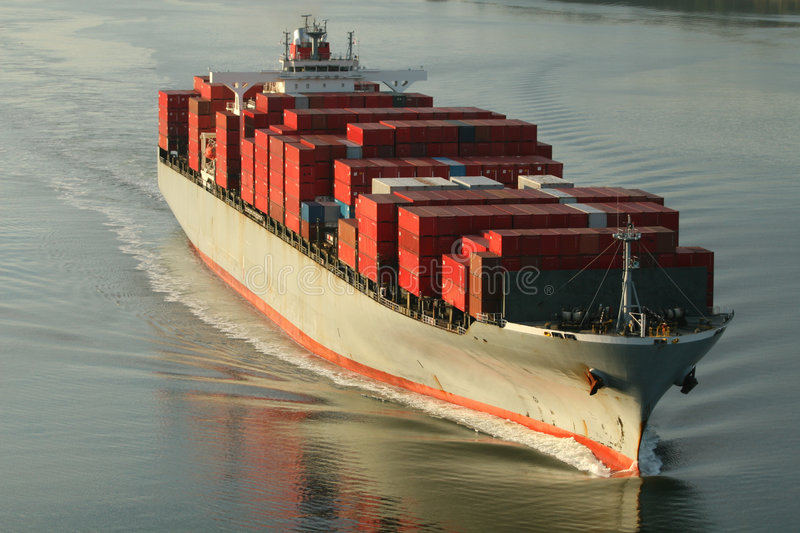 Freight Ship Stock Photography