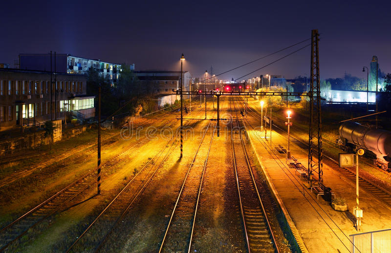 Download Freight Station With Trains - Cargo Transportation Stock Image - Image: 27689139