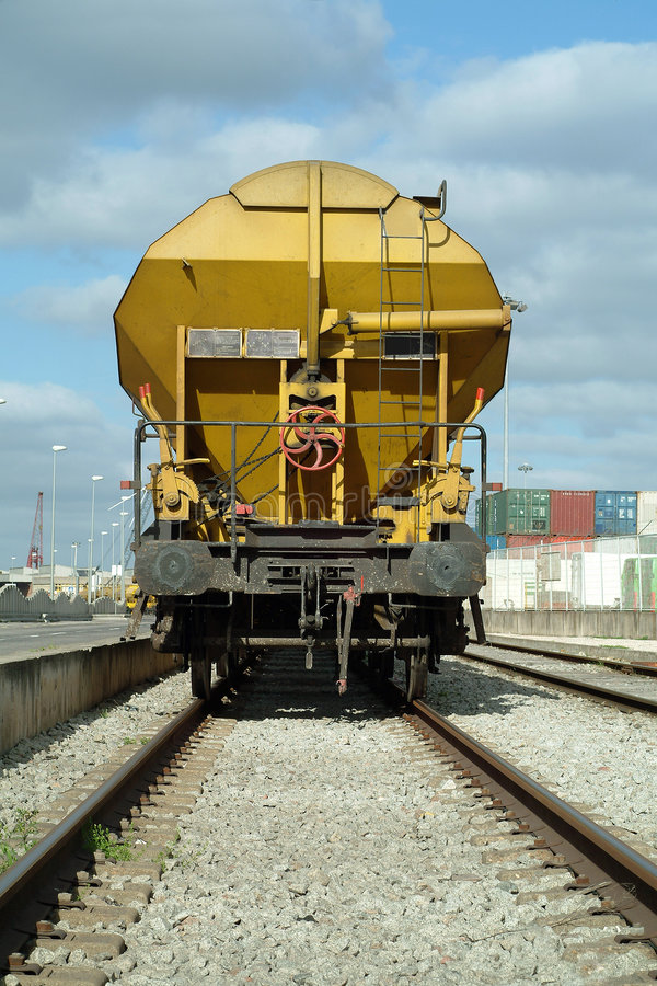 Download Freight train cargo wagon stock image. Image of railway - 1724823