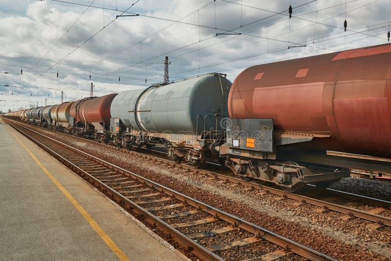 Freight Train Wagon stock photo