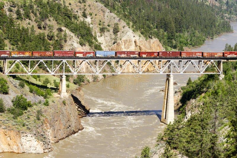 Freight Train Transportation Shipping stock image