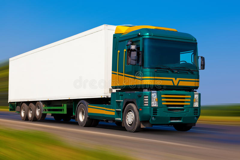 Download Freight truck stock image. Image of motion, industry - 15564325