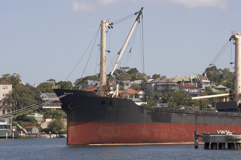 Download Freighter Royalty Free Stock Image - Image: 190066