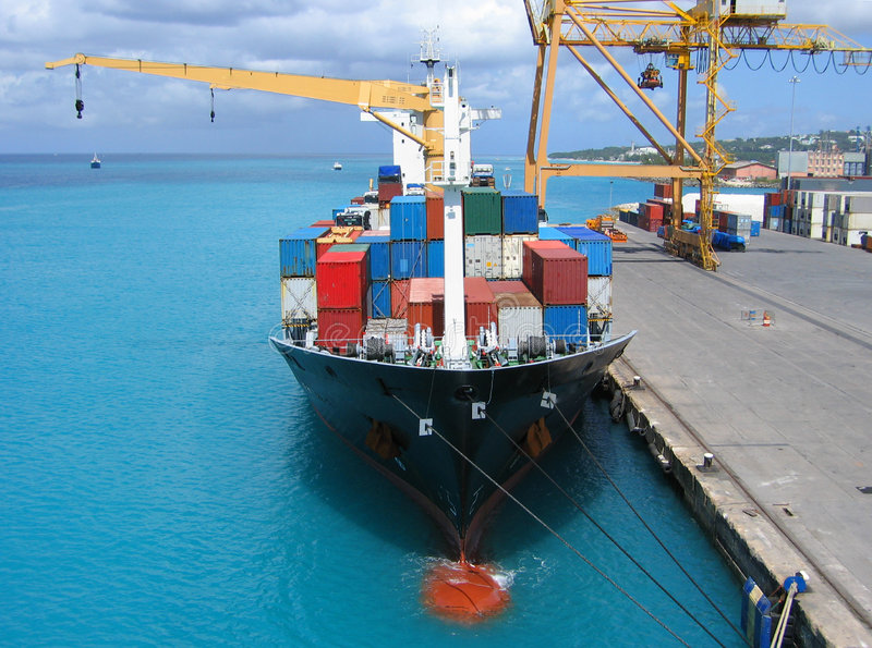 Download Freighter stock image. Image of docks, accessible, harbor - 2897757