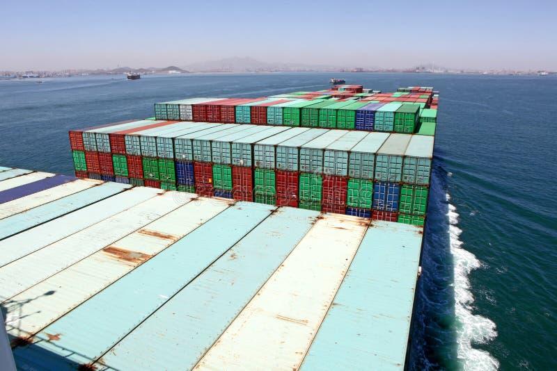 Freighter zdjęcia stock