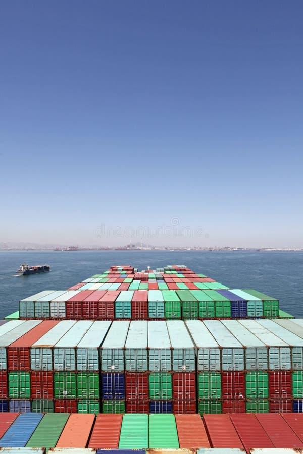 Freighter fotografia royalty free