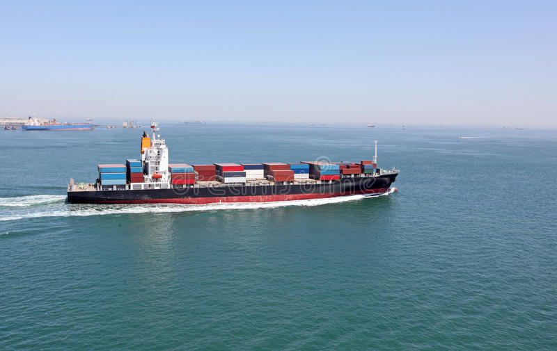 Freighter fotografia stock