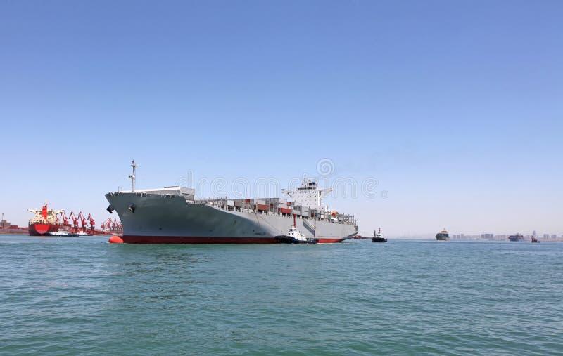 Freighter zdjęcie royalty free