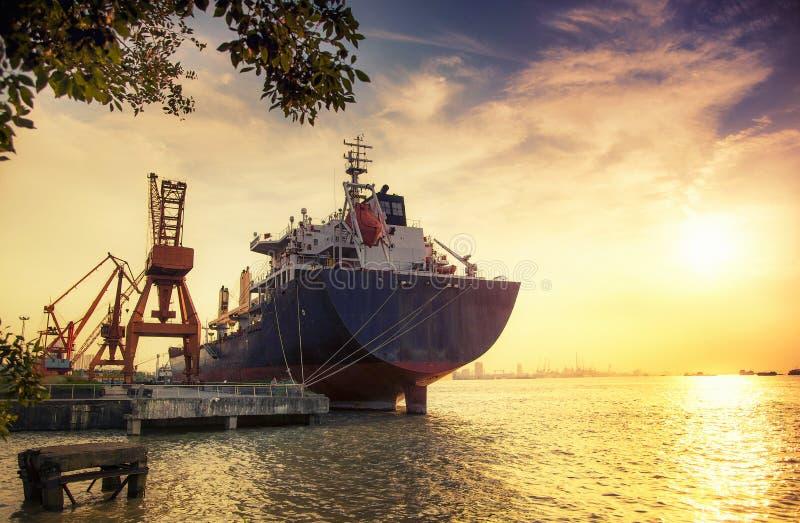 freighter imagem de stock