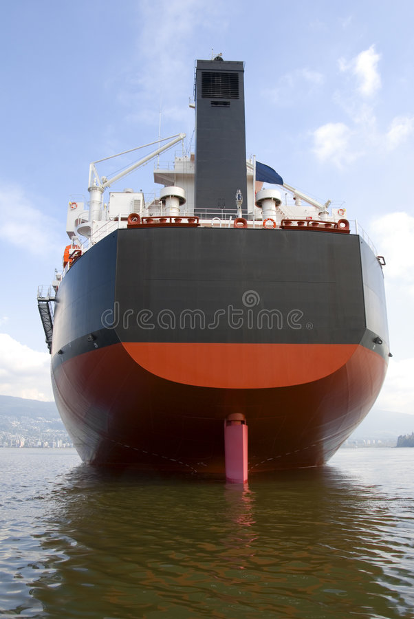 Freighter Rudder stock images