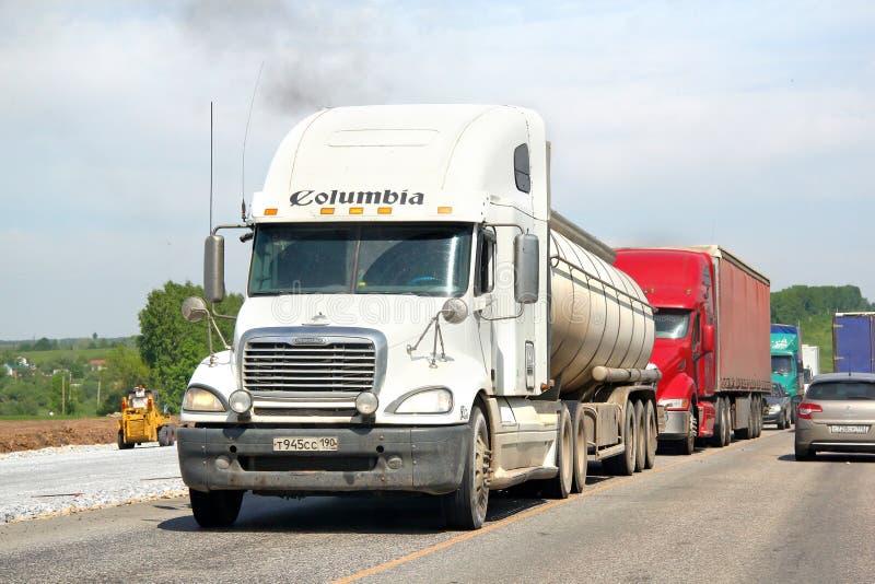 Freightliner Kolumbien lizenzfreies stockfoto