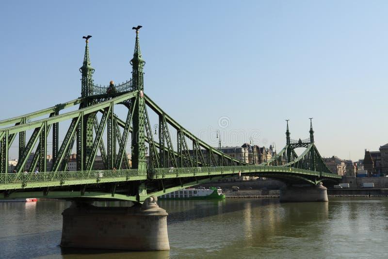 Freiheit-Br?cke Budapest lizenzfreie stockbilder