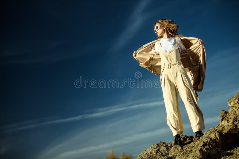 Freiheit und Mode lizenzfreie stockfotografie