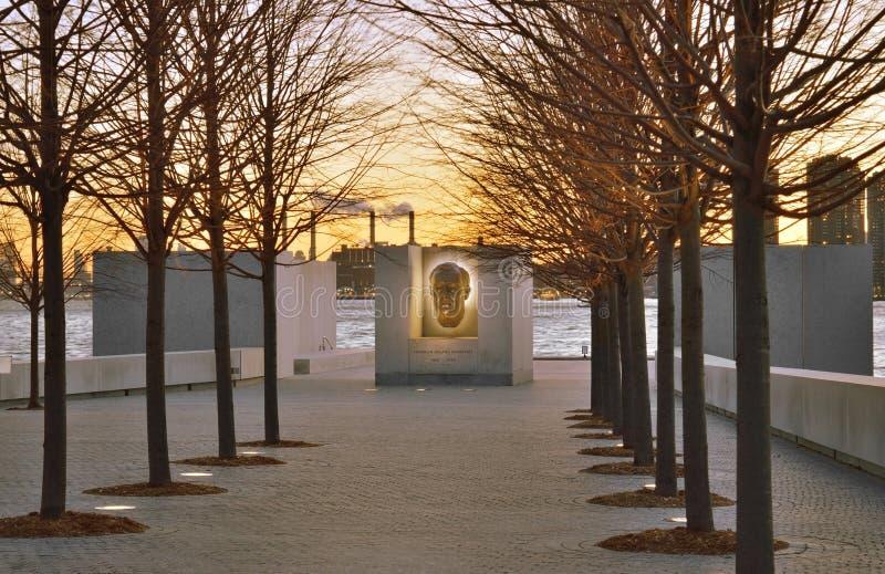 Freiheits-Park FDR vier auf Roosevelt Island stockbilder