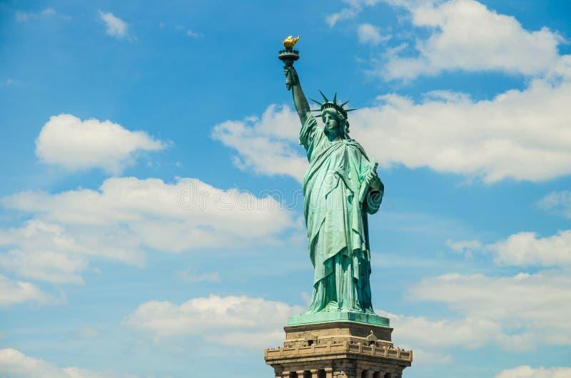 Freiheitsstatue in New York stockbilder