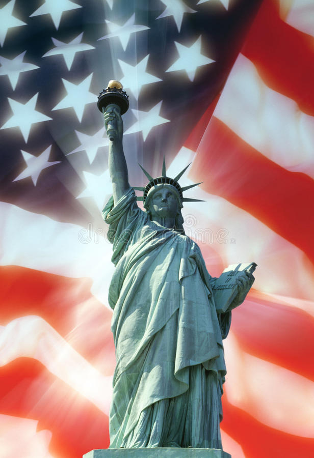 Freiheitsstatue - New York - USA lizenzfreie stockfotos