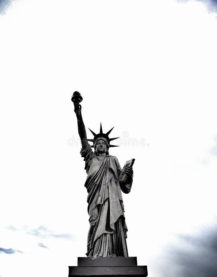 Freiheitsstatue u stockbilder